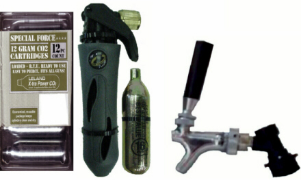 Complete Mobile Faucet Dispensing Package